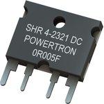SHR 4-2321 0R005 S 1% M, Резистор в сквозное отверстие ...