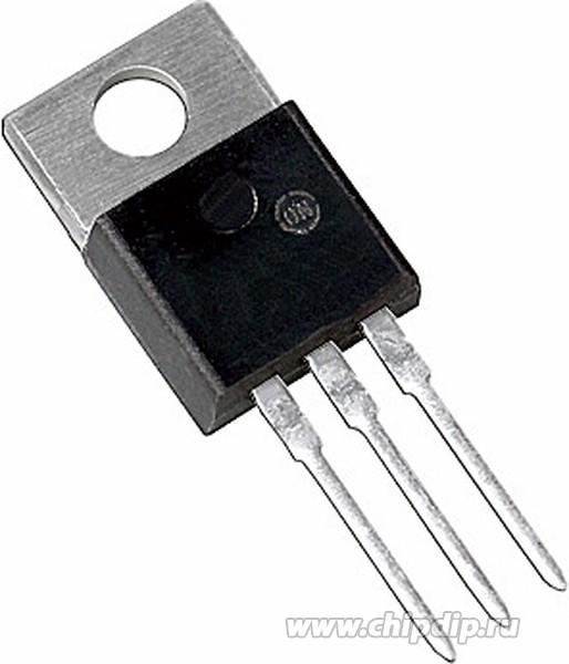 L7805CV-DG, Стабилизатор напряжения +5В, 1.5А, 4%, TO-220 (0°C...+ ...
