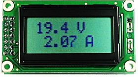 Фото 1/3 SVAL0013PN-100V-I10A,  Цифровой вольтметр (до 100В)+амперметр постоянного тока (до 10А)