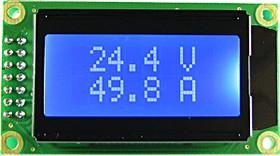 Фото 1/3 SVAL0013NW-100V-E50A, Цифровой вольтметр (до 100В)+амперметр постоянного тока без шунта ( до 50А)