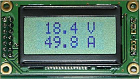 Фото 1/3 SVAL0013PN-100V-E50A, Цифровой вольтметр (до 100В) + амперметр постоянного тока без шунта (до 50А)