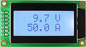 Фото 1/3 SVAL0013PW-100V-E50A, Цифровой вольтметр ( до 100В)+амперметр постоянного тока без шунта (до 50А)