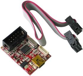 Фото 1/2 MOD-USB-RS232, Плата расширения с разъемом UEXT и USB-RS232 мостом.