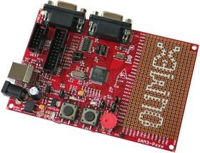 Фото 1/3 SAM3-P256, Отладочная плата для мк Cortex M3T ATSAM3S4BA