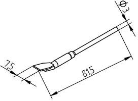 452FDLF075, Насадки для выпаивания