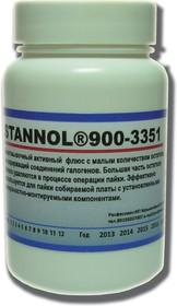 Stannol 900-3351 30мл, Флюс безотмывочный