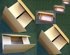 Коробка картонная(350х190х200)