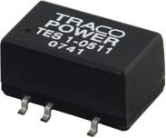 TES 1-0511, DC/DC преобразователь, 1Вт, вход 4.5-5.5В, выход 5В/200мА