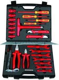 8150 VDE, Набор высоковольтных инструментов 24 предмета