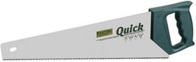 "Фото 1/2 15004-50, Ножовка ""QUICK"" закал универс зуб U-RS, 1-комп рукоятка, 7/8TPI, 500мм"