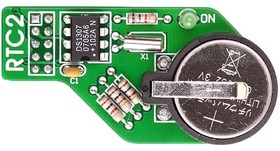 Фото 1/4 MIKROE-330, RTC2 Board, Плата часов реального времени на базе DS1307