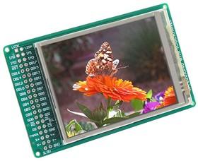 Фото 1/4 MIKROE-495, TFT - PROTO Board, Плата с сенсорным дисплеем 320х240