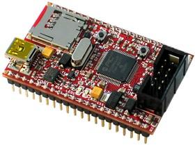 PIC32-PINGUINO-MICRO, Отладочная плата форм-фактора Arduino на базе PIC32MX440F256H
