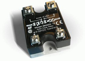 480D25-12, Реле 3-32VDC, 25A/480VAC