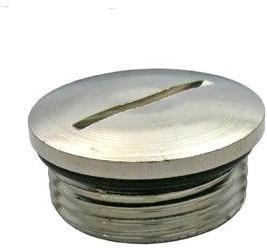 PG-16, Заглушка, металл,диаметр 24 мм