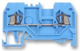 Фото 1/2 280-904, Клеммная колодка на DIN рейку, 2 вывод(-ов), 28 AWG, 12 AWG, 2.5 мм², Зажим, 24 А