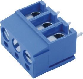 691101710003, Клеммная колодка типа провод к плате, 5 мм, 3 вывод(-ов), 26 AWG, 14 AWG, 2 мм², Винт