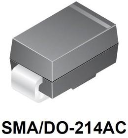 BYG22D-E3/TR, Диод лавинный сверхбыстрый, 2А, 200В [SMA / DO-214AC]