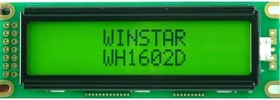 WH1602D-YYK-CTK, Индикатор