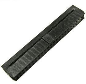 IDC2-44F (DS1017-44-N), Розетка на шлейф 44конт.шаг 2.00мм без фиксатора кабеля