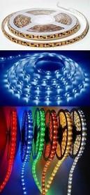 48 (LS606 (141-461)), Лента светодиодная 1 метр, 60SMD(5050)/m 14.4W/m 12V красный