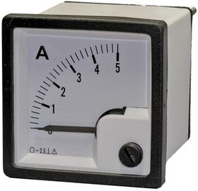 Амперметр 5А (48х48)