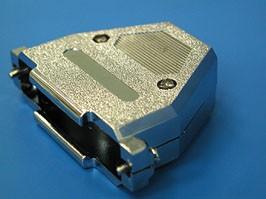 DN-37C, Корпус разъема 37 контактов, металлизированный