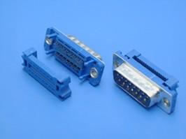 DI-15M, Разъем 15 контактов, вилка на плоский кабель