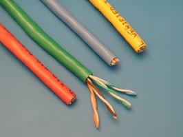 UTP4-24SR5/e L, Кабель Витая пара 8 проводов, кат. 5е, многожильный, (PCnet), бухта 300м, синий