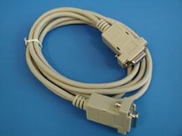 SCD-128FF, Кабель ноль модемный 9(м)-9(м) 1,8м