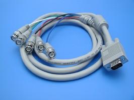 SCF-14/5BNC., Кабель для монитора VGA 15(п)-5*BNC(п), 1,8м.