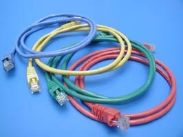 SC03-8P8C2-B, Патч-корд кат.5е, 2м, синий