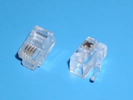 TP-4P4C, Вилка RJ-10, 4P4C | купить в розницу и оптом