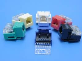 KES-TV-W, Модуль RJ-12 6P6C, Keystone, белый