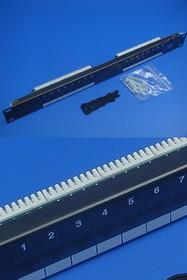 PP1-168, Патч-панель (Patch-panel) 16 портов 5е кат. тип KRONE