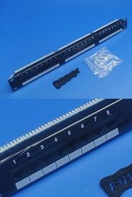 PP1-248, Патч-панель (Patch-panel) 24 порта 5е кат. тип KRONE
