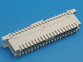 KRC-10, Плинт 10 пар тип KRONE, неразмыкаемый, нумерация 1..0