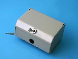 F1062, Коробка распределительная, 1 плинт 10 пар, металлическая