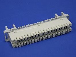 KRA-101, Плинт 10 пар тип KRONE, размыкаемый, PROFIL, нумерация 1..0