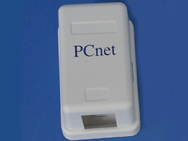 Розетка 8P8C (RJ-45) категория 5е, универсальная (PCnet) (EBKU-1-4)