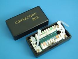 """GCT22-8P8C, Соединитель для кабеля """"Витая пара"""" кат. 5е, тип KRONE"""