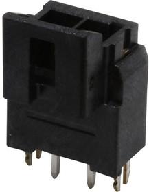 172287-1202, Разъем типа провод-плата, 3.5 мм, 2 контакт(-ов), Штыревой Разъем, Ultra-Fit 172287 Series