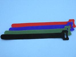 MGT-210RD, Стяжка 210х16 мм с липучкой, красная, упак. 20 шт.