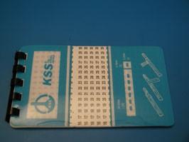 WMB-3, Маркер записная книжка цифры 1-45