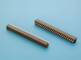 PBD2-50, Разъем 2х25(м) для пайки на плату шаг 2мм