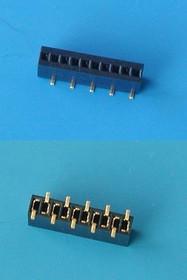 PBS1.27-10A/BS (DS1065-02-1*10), Разъем 1х10(м), поверхностный монтаж, шаг 1,27мм