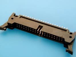 SCM-40, Разъем 2х20 вилка на плату с защелками