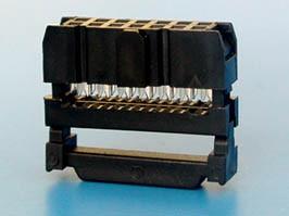 IDC-14, Разъем 2х7 гнездо на плоский кабель