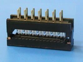 FDC-14, Разъем 2х7 контактов на плату для наколки на шлейф