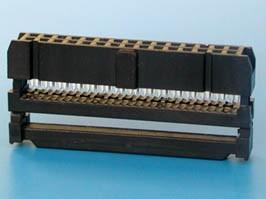 IDC-30F, Розетка 2.54мм на шлейф 30 pin с фиксатором кабеля